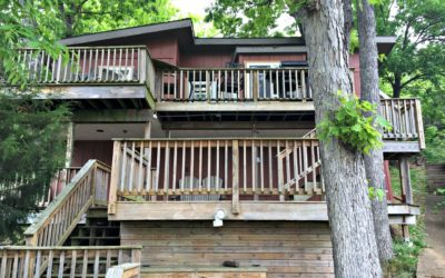 Tree House, Lakefront, walk to Bagnell Dam, dock, and boat rentals discount